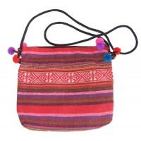 Bright Multicoloured Handlloom Thai Hilltribe Shoulder Bag - Fair Trade