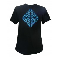 Fair Trade Embroidered Celtic Knot Design T Shirt