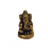 Fair Trade Hand Cast Brass Ganesh Fingurine from Kathmandu, Nepal