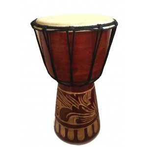 Djembe Drum - Authentic African Style -25 cm high Great Sound Hand Carved Fair Trade
