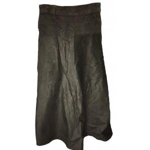 Fair Trade Fashionable Corduroy Annie Maxi Skirt - Khaki